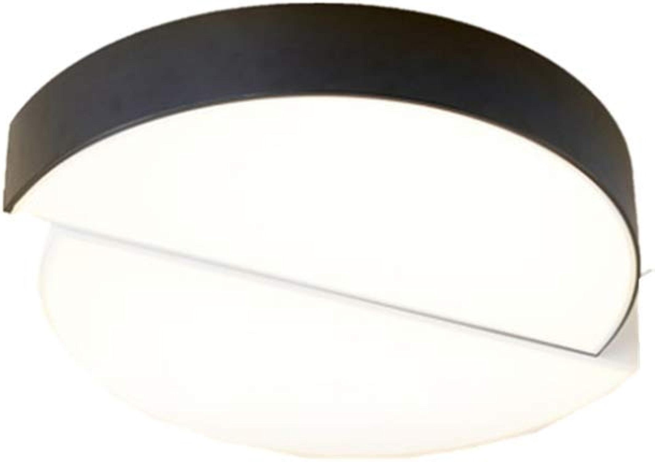 La lumière de plafond a Hommesé la lampe blanche de salle de séjour ronde de salle de séjour d'éclairage simple moderne 38cm x 42cm x 9cm
