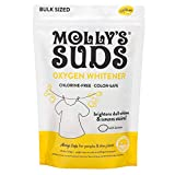 Molly's Suds Natural Oxygen Whitener, Non Chlorine, Brightens Whites, Free of Bleach. Pure Lemon Essential Oil, 81.6 Ounces