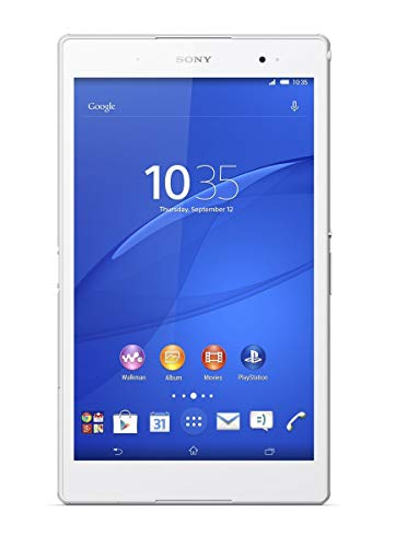 Sony Xperia Z3 8-inch Tablet Compact (White) - (Qualcomm 2.5GHz, 3GB RAM, 16GB Memory, Wi-Fi, Android 4.4 Kitkat) (Renewed)