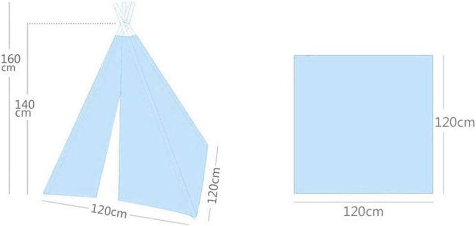 NBVCX Accessoires de Vie Tente tipi pour Enfants intérieur extérieur Tente de Jeu pour Enfants Maison de Jeu Pliable de Style Indien pour Filles et garçons C
