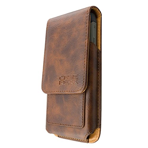 caseroxx Outdoor Tasche für RugGear RG730, Tasche (Outdoor Tasche in braun)