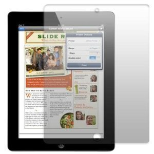 DE NIEUWE APPLE iPAD 3 HD Screen Protector - 16 GB 32 GB 64 GB - 3e generatie iPad uitgebracht maart 2012 - Hi-TEC ESSENTIALS