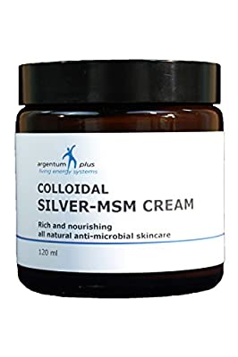argentum plus - Silver-MSM Cream 120 ml from Living Energy Systems Ltd.