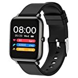 Popglory Smart Watch, Fitness Tracker with Blood Oxygen, Blood Pressure, Heart Rate Monitor