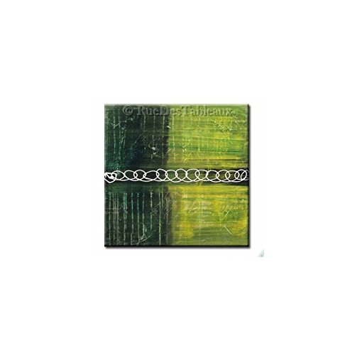 motivo mosaico, da-Quadro dipinto a mano pittura ad olio, Tableau deco moderno