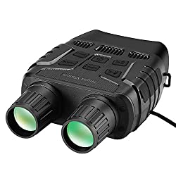 BOBLOV Digital Night Vision Monocular 5x32 Optics Scope Night Vision Infrared Monoculars with 16GB Card for Hunting Observe