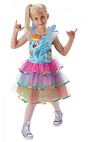 Rubies Enfants Mon Tableau De Bord Petit Poney Arc-en-ciel Costume Déguisement De Luxe - 5-6 An