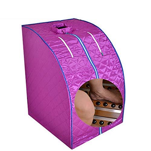 Baiye Infrarood sauna draagbare verwarming 1000W sauna box Indoor Folding Sauna stoomcabine Personal Spa Droogte saunaverwarming