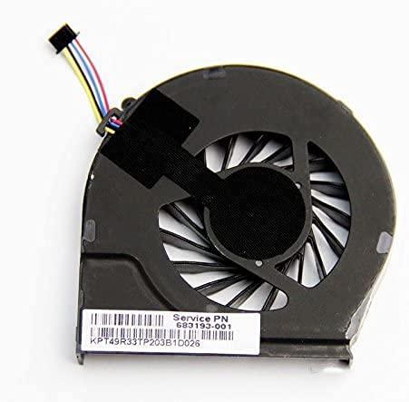 Ventilador de refrigeración de CPU 0.5A para HP Pavilion G7-2000 G6-2278DX 683193-001 685477-001 CPU Fan Laptop