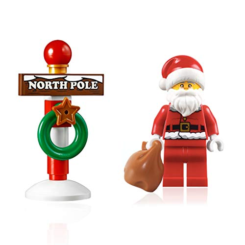 LEGO Holiday Minifigure - Santa Claus (with North Pole Stand) 10245