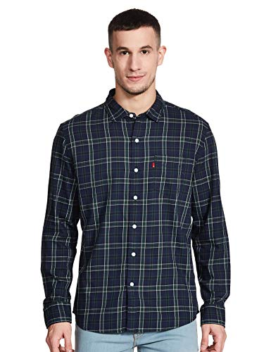 Levi's Men's Checkered Slim fit Casual Shirt