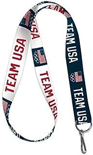 WinCraft Olympics USOC Team USA Lanyard Key Chain, 20 inches