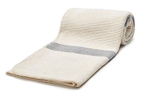 Arus, Manta para Cama y Sofás, Mezcla de algodón, 150 x 200 cm, 330 gr/qm, PEARL-150