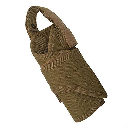 ruifu molle tactique Ceinture Pistolet Holster clip ceinture escamotable massif en sac de transport réglable Pistolet Pistolet Holster Pochette, kaki