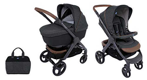 Chicco Duo Stylego Up Crossover (Sportwagen + Kinderwagenaufsatz), graphite
