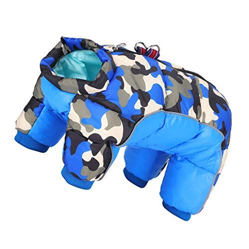 wosume 【𝐅𝐫𝐮𝐡𝐥𝐢𝐧𝐠 𝐕𝐞𝐫𝐤𝐚𝐮𝐟】 Haustier Winterkleidung, wasserdichte Kleidung Warm halten Hund Winterkleidung, für Haustier Winterkleidung Welpen Haustier Kleidung(16#)