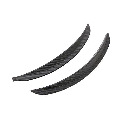YZJC 1 par de Estilo de Fibra de Carbono Estilo Fender Flare Wheel Kit de Cuerpo de Labios Universal para camión de Coche Coche Mudguard Mud Guard Decor Auto Decoración