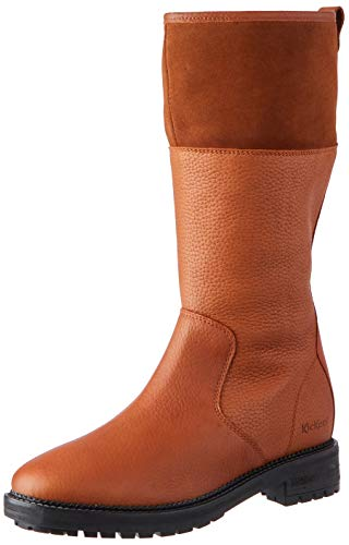 Kickers Damen Wathigh Mode-Stiefel, Camel, 39 EU