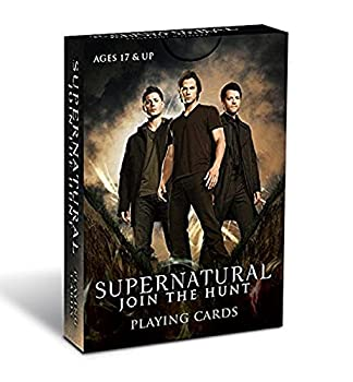 Cryptozoic Entertainment Supernatural Playing Cards Card Game
