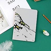 軽量版 iPad Pro 11 ケース 極薄軽量 2つ折りスタンド 磁気吸着式 オートスリープ機能 傷つけ防止 手帳型 2018秋発売のiPad Pro 11に対応 スマートカバーカラフルな詳細と鳥の鳥の頭の肖像画スケッチ似顔絵ペット動物園画像装飾