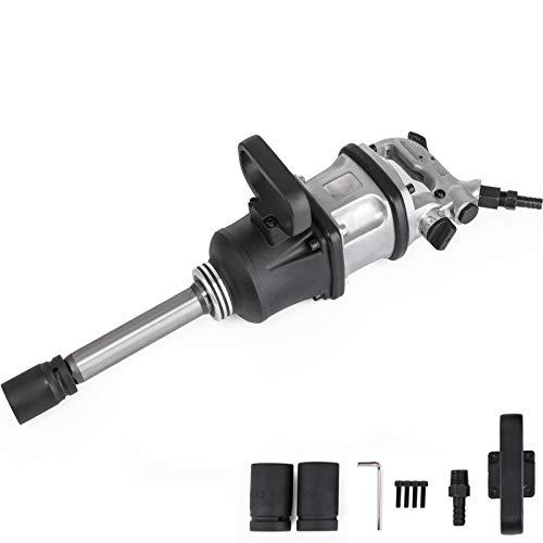 Moh Pistola de Llave 3.800 N.M, Llave de Impacto Neumática 4.000 rpm,Taladro de Impacto Manual Ideal para Trabajos de Reparación General, Ampliamente Utilizado en Camiones Neumáticos
