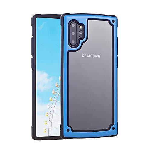 ZHYLIN Schutzhülle für Samsung S8, S9, S10 Plus, bruchfest, stoßfest, modisch, Bonbonfarben, Silikon, blau, Samsung S8plus