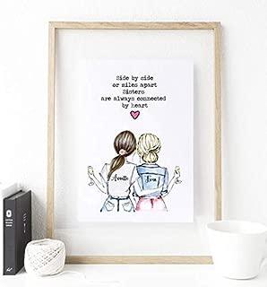 Personalized Best Friends Gift ideas, birthday gift ideas for friends, Gifts ideas for Sister, Birthday Gift ideas, Best Friends customized Gifts