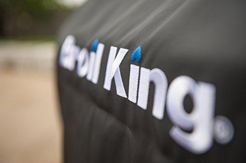 415cVnO8YfL. SL500  - Broil King Abdeckhaube Premium für Crown/Baron 440, 490, Signet 20, 90. Grill-/Grillzubehör, Edelstahl, 5 x 5 x 5 cm
