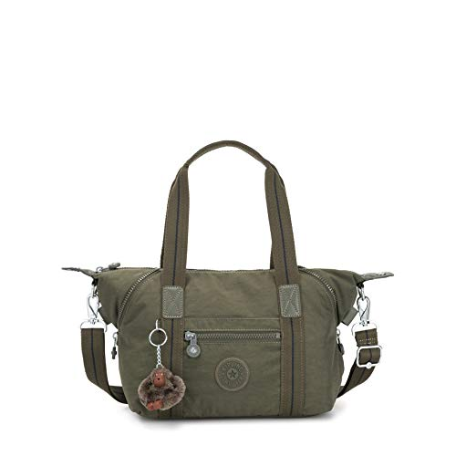 Kipling Art Mini - Borse a secchiello Donna, Verde (Jaded Green C)