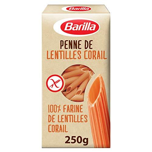 Barilla Pasta Legume aus Hülsenfrüchten Penne Rote Linsen , 250 g