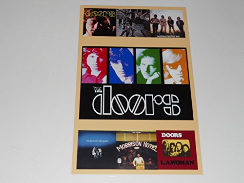 "Cleveland Vinyl Large The Doors Album Cover Poster 1967-1971 Jim Morrison 19"" by 13"""