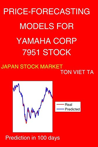 Price-Forecasting Models for Yamaha Corp 7951 Stock (Nikkei 225 Components, Band 220)