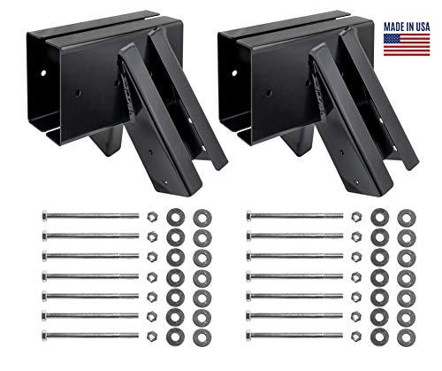 Bay Swings | Swing Set Brackets | Swing Frame | Wood Swing Set Kit | DIY Swing Set Hardware Kit | Made in USA