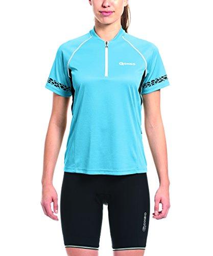 Gonso Damen Pona Da-Bike-Shirt, Bonnie Blue, 40