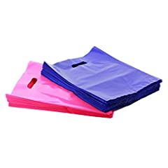 PREMIUM 200 PURPLE & PINK MERCHANDISE BAGS PACKAGE: Need bags you can rely on? These elegant bags are quite impressive. While the glossy shine will catch everyone's attention, these bags are not looking to make any compromises with overall quality. E...