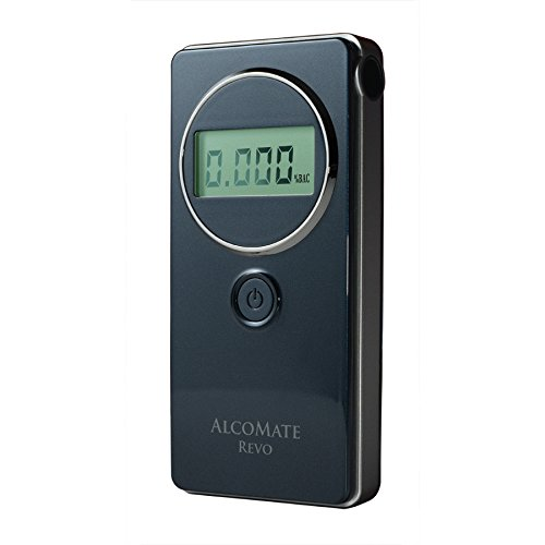 AlcoMate Revo Fuel-Cell Breathalyzer with Prism Technology