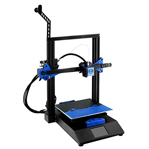 3D Printer Bluer High Precision DIY Printing Upgrad Resume Power Failure Printing Hotbed I3 Printer with BMG Extruder