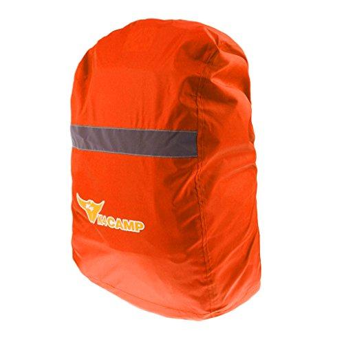 Sharplace Sac à Dos Imperméable Ultralight Antipoussière Randonnée Sachet De Camping Kayak Bateau Flottant Escalade - Orange, L