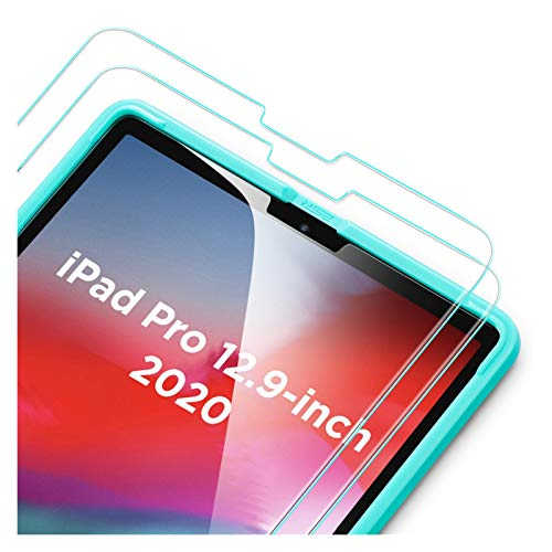 BHPP KPBHD 2PCS Tempered Glass For 2020 2018 IPad Pro 11'' 12.9'' Inch 2nd/4th Generation High Definition Clear Full Screen Film Glass (Color : IPad Pro 12.9 2X HD)