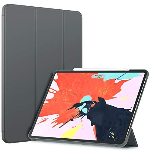 JETech Funda Compatible iPad Pro 12,9 Pulgadas (Modelo 2020/2018), Compatible con Pencil,...
