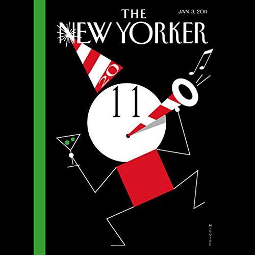 The New Yorker, January 3rd 2011 (Daniel Mendelsohn, Jeffrey Toobin, Steve Millhauser) cover art