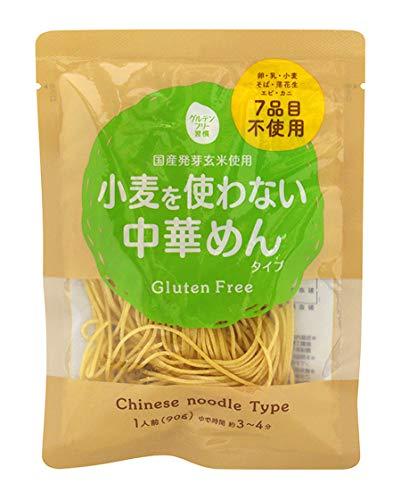 大潟村あきたこまち生産者協会 グルテンフリー習慣 小麦を使わない中華めんタイプ 90g×12袋