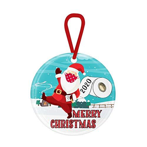 Christmas Decoration – Christmas Decoration 2020 Christmas Decorations Personalised Christmas Trees Pendant Tree Decoration Gift Tag Christmas Wood Christmas Decoration Polka Dot 1FF2 (A)
