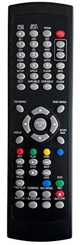 BELIFE® Ersatz Fernbedienung passend für Funai Videorecorder NB847 und NB848