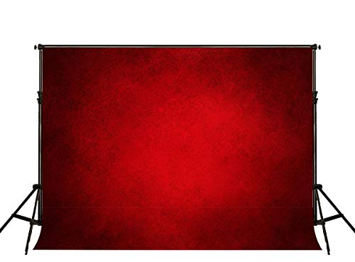 Kate 7x5ft Red Abstract Backdrop Red Portrait Textures Photo Background Old Master Red Backdrops