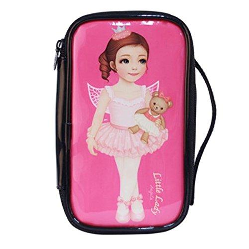 Mode étanche Cas de maquillage de Voyage sac cosmétique de toilette, Ballet Girl