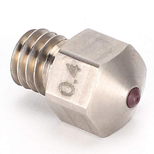 Boquilla Duradera MK8 Resistente a Altas temperaturas, Dura, Fuerte, Resistente a los álcalis, Acero de Titanio antioxidante para Impresora 3D