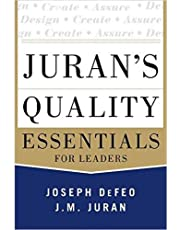 Juran's  Essentials For Leaders by Joseph DeFeo - Hardcover