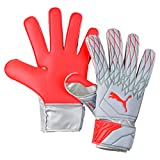 PUMA Future Grip 19.4 Guantes De Portero, Adultos Unisex, Grey Dawn-Nrgy Red, 10