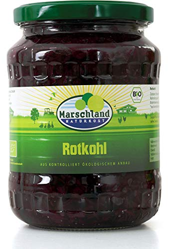 Marschland Naturkost Bio Rotkohl (6 x 680 gr)